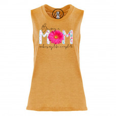 Being a Mom Festival Muscle Tank
